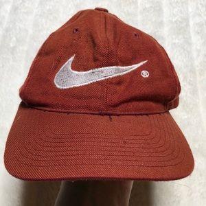 Nike Swoosh Big Logo Vintage 90's Hat SnapBack Cap